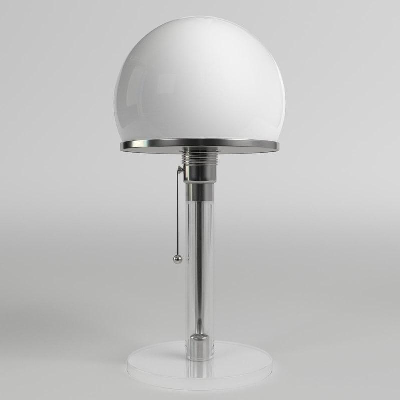 wagenfeld table lamp max