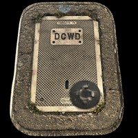 DCWD concrete cover