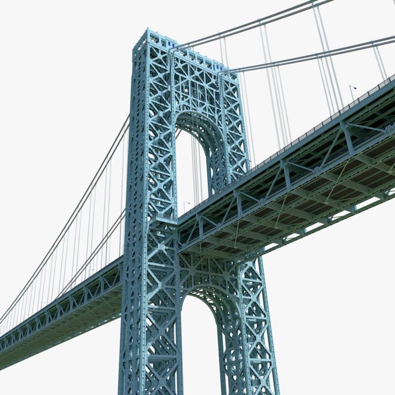 3d george washington bridge
