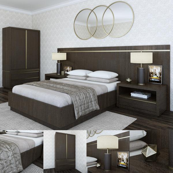 restoration bezier bed rh 3d max
