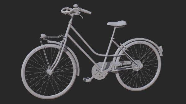 bicycle mountain bike 3D model