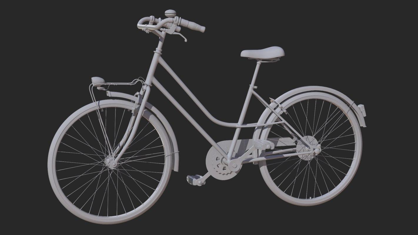 bicycle mountain bike 3D model