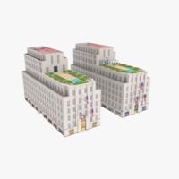 3D 610 620 fifth avenue model