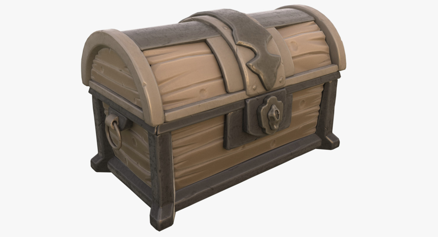 imperial chest conquest 3d max