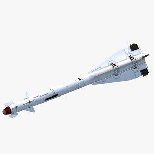3d max soviet r-60 missile fighter