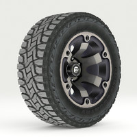 road wheel tire 3d 3ds