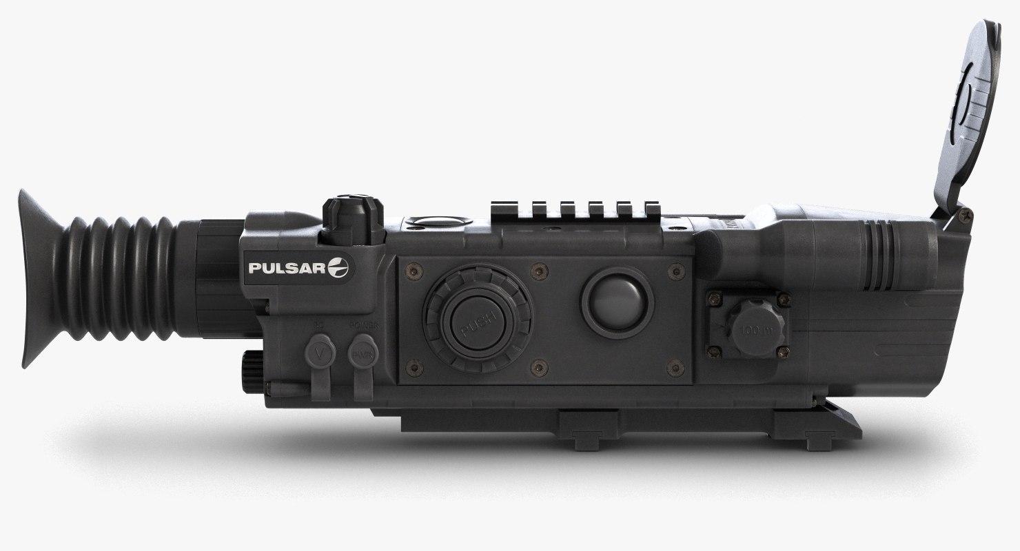 3d model pulsar night vision