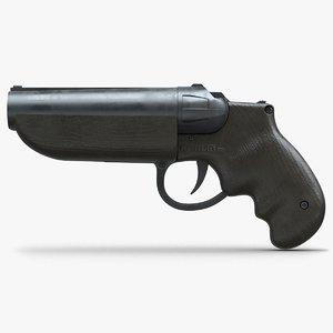 pistol goblin 1 3d model