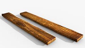 fence assemble wooden obj