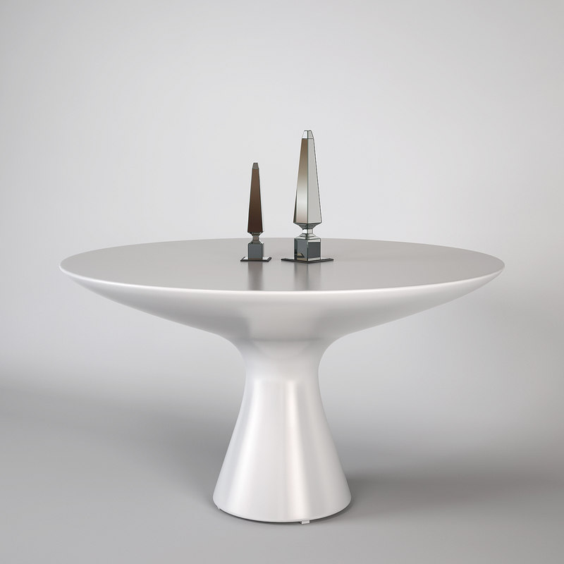 zanotta table 2577 3d 3ds