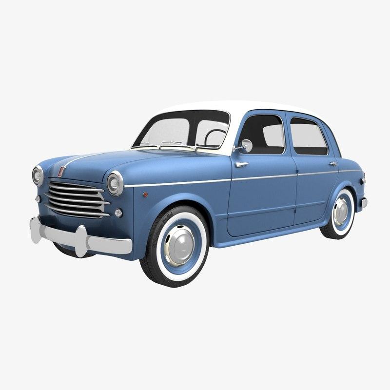 fiat 1100-103 1953 obj