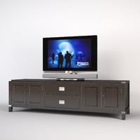 3ds eichholtz military tv cabinet