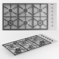 Miele 6-Burner KM 3484 LP Gas Cooktop