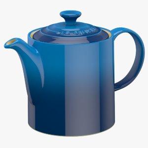 3d max le creuset teapot