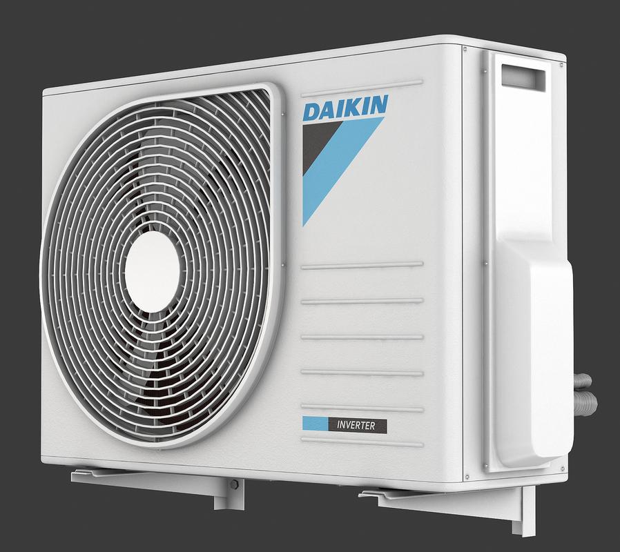 3d model of air conditioner daikin