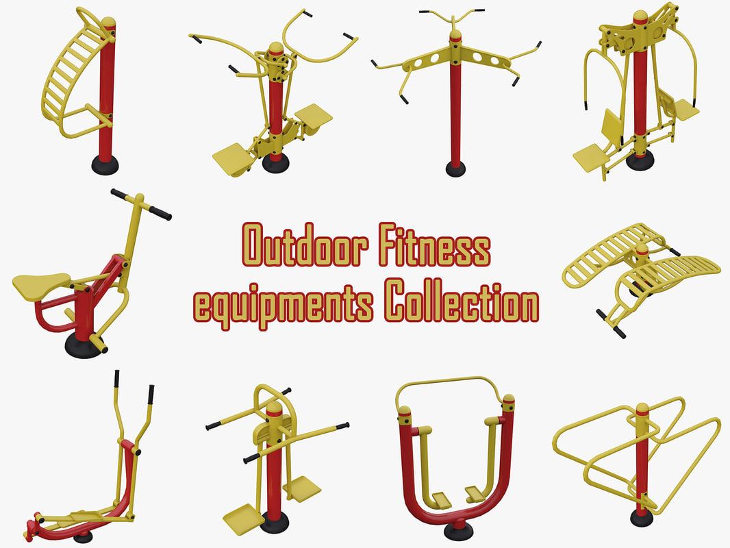 outdoor gym equipments model