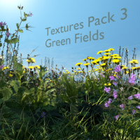 10 Textures pack #3 - Green field