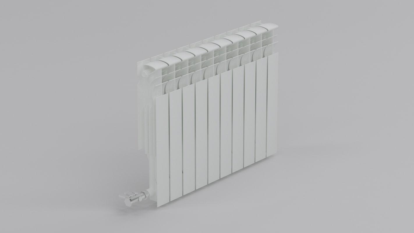 3ds radiator aluminium
