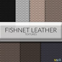 Fishnet Leather Fabric Textures