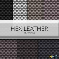 Hex Leather Fabric Textures