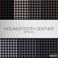 Houndstooth Leather Fabrics