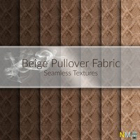 Beige Pullover Fabric