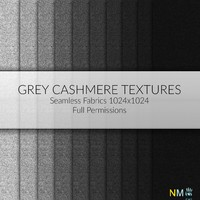 Cashmere Fabric Grey