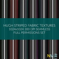 Hugh Striped Fabric
