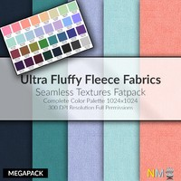 Fluffy Fleece Fabric Large Pack