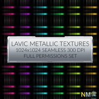 Lavic Metallic Textures