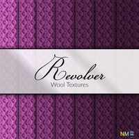 Revolver Violet Wool Fabric Textures