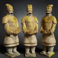 Terracotta Warrior Weathered Scan