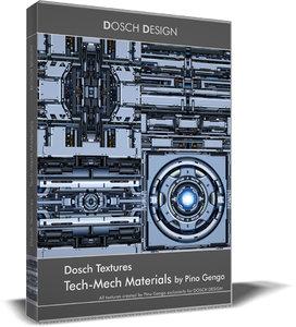 DOSCH Textures - Tech-Mech Materials