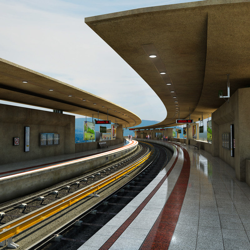 max train station