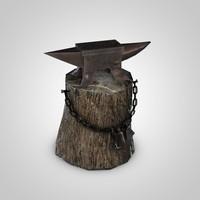 Medieval anvil