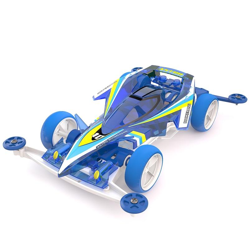 max tamiya astro boomerang chassis