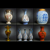 6 Vase Collection