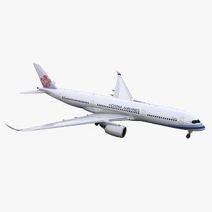 a350-900 china airlines 3D