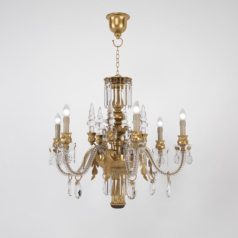 chandelier banci 3d model