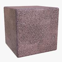 Pavement Cemented Pebbles - Photogrammetry Texture