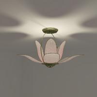 chandelier flower 3d model