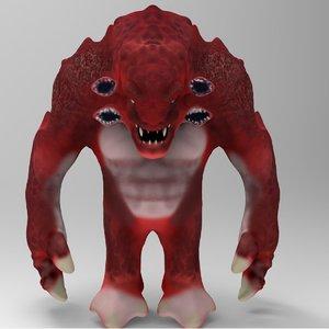 creature 3d fbx
