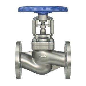 3D industrial valve model