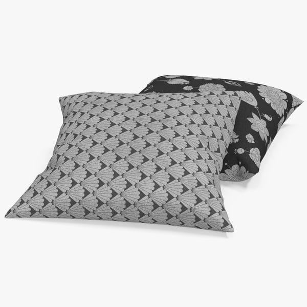 3d model pillows 2