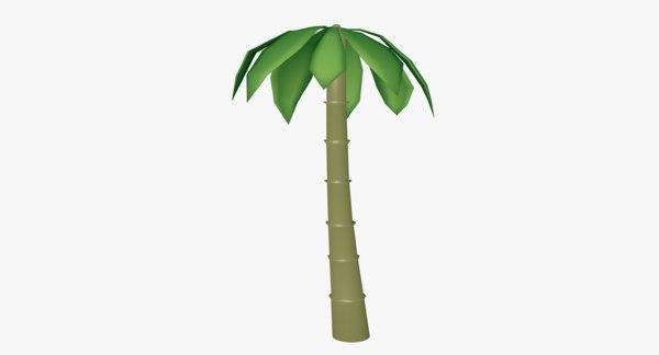 obj palm tree