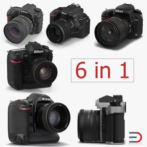 nikon cameras model