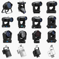 Stage Lighting Collection (14 Pieces)