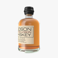 whiskey hudson spirit 3d model