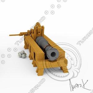 c4d cannon leonardo vinci