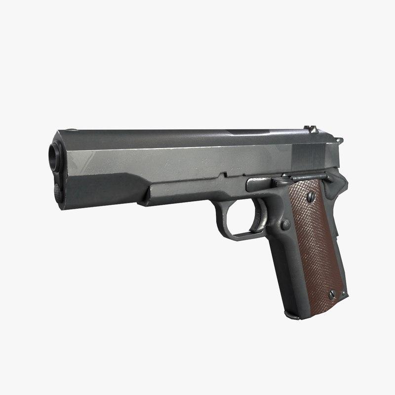 obj pistol m 1911